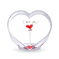 Сувенир-сердце Я тебя люблю