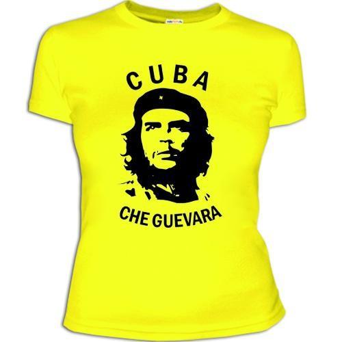 Женская футболка 'Cuba – Che Guevara'