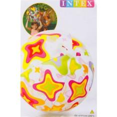 Пляжный мяч Яркие узоры, 51 см, для детей от 3 лет