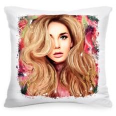 Подушка с портретом по вашему фото Fashion art