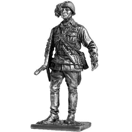 Офицер берсальерного батальона. Италия, 1943-45 г