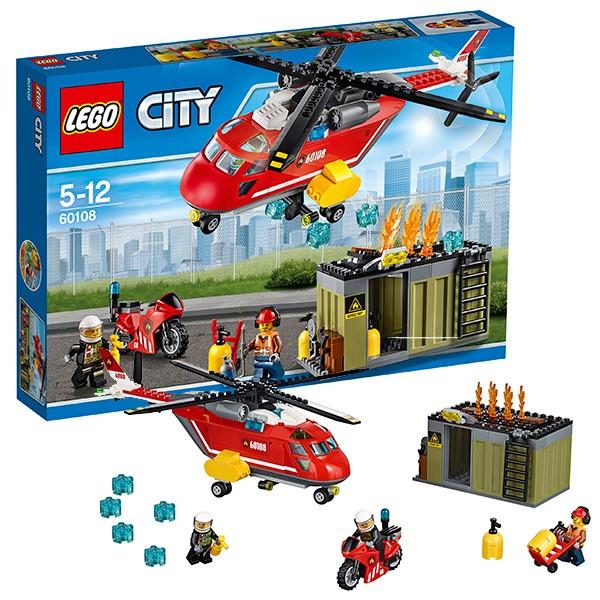 Конструктор Lego City Пожарная команда