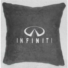 Темно-серая подушка Infiniti