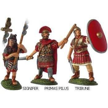 Римляне-командиры (фигурки для сборки) 28 мм