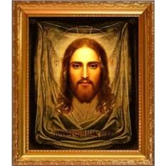 Икона Иисуса Христа на холсте Спас Нерукотворный