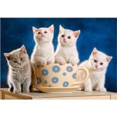 Пазл Четыре котенка из 500 деталей