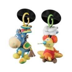 Мягкая игрушка-подвеска Ослик, PLAYGRO