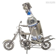 Подставка под бутылку Мотоциклист 1