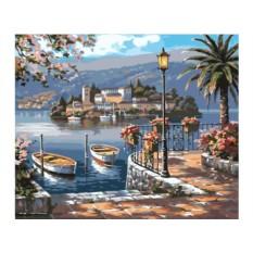 Картины по номерам «Итальянская гавань»