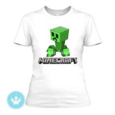 Женская футболка Крипер