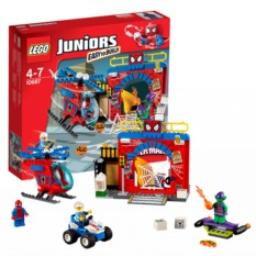 Конструктор Lego Juniors Убежище Человека-Паука