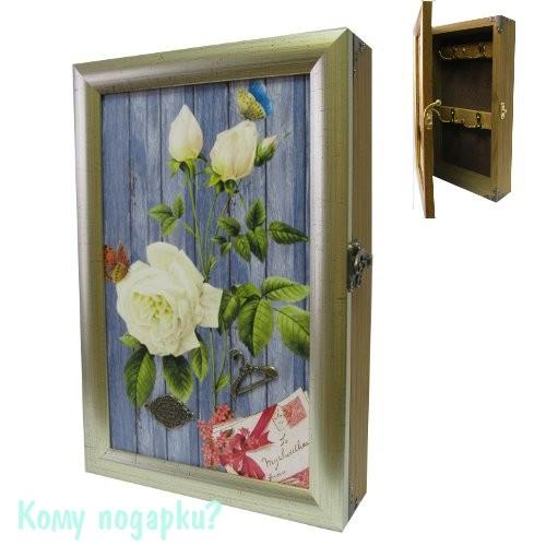 Ключница «Белые розы»