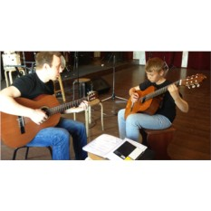 Сертификат на мастер-класс по игре на гитаре (1 чел.)