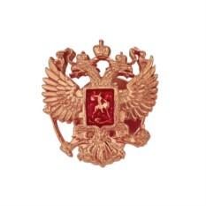 Значок Двуглавый орел (позолоченное серебро)