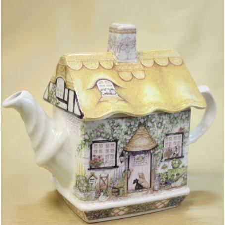 Заварочный чайник «Коттедж с розами»