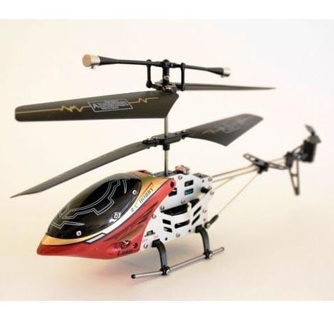Вертолет Attop 9808 red с гироскопом