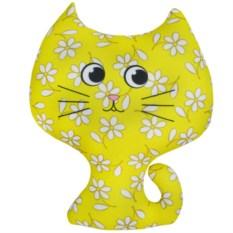 Игрушка-антистресс Котёнок (цвет — жёлтый)