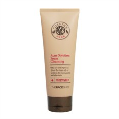 Пенка The Face Shop Clean face acne solution foam cleansing
