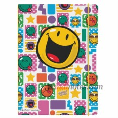 Тетрадь Plastic Smiley Happy А4 от Herlitz my.book Flex