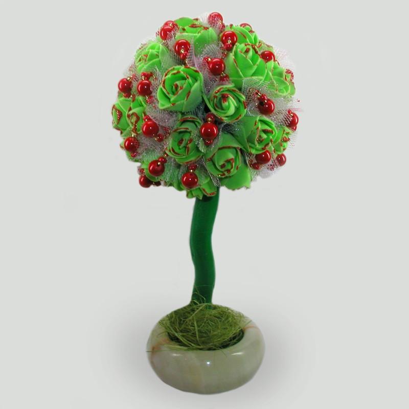 Дерево-топиарий Коралловая свадьба