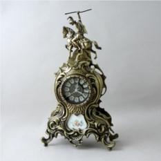 Бронзовые настольные часы Дон Жоан