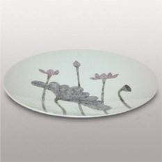 Декоративная тарелка, диаметр 45 см