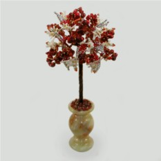 Дерево из красного и белого коралла Коралловая песня