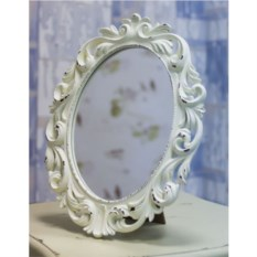 Винтажное настольное зеркало 40 см