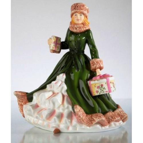 Коллекционная фарфоровая статуэтка Изабелла, 22 см
