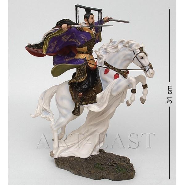 Статуэтка Китайский воин на коне