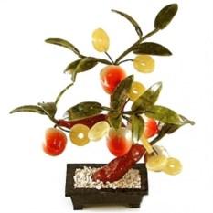 Дерево счастья Персик с монетками