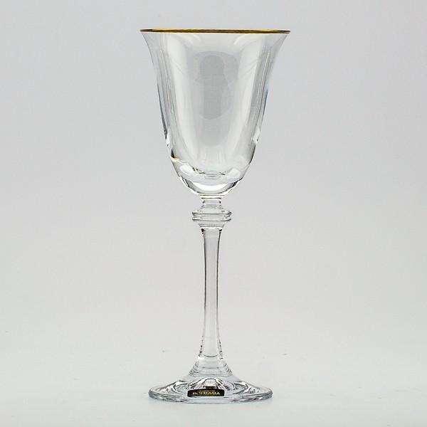 Набор из 6 бокалов для вина 185 мл Crystalite Bohemia Александра