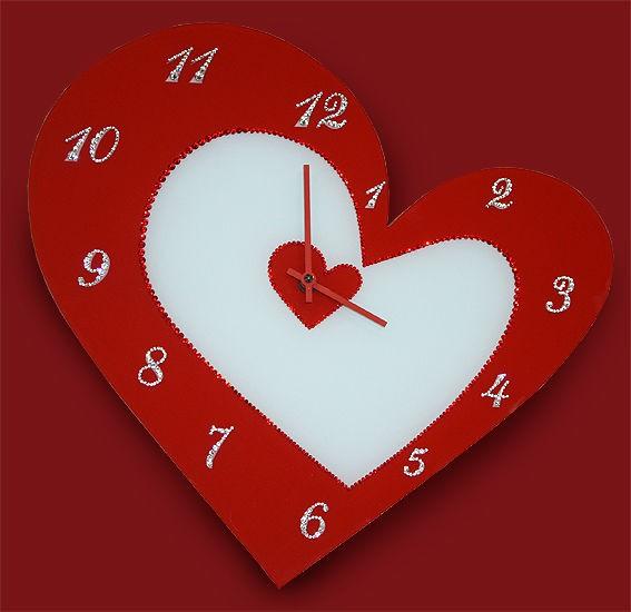Часы с кристаллами Swarovski С любовью!