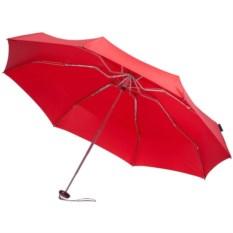 Красный складной зонт в чехле