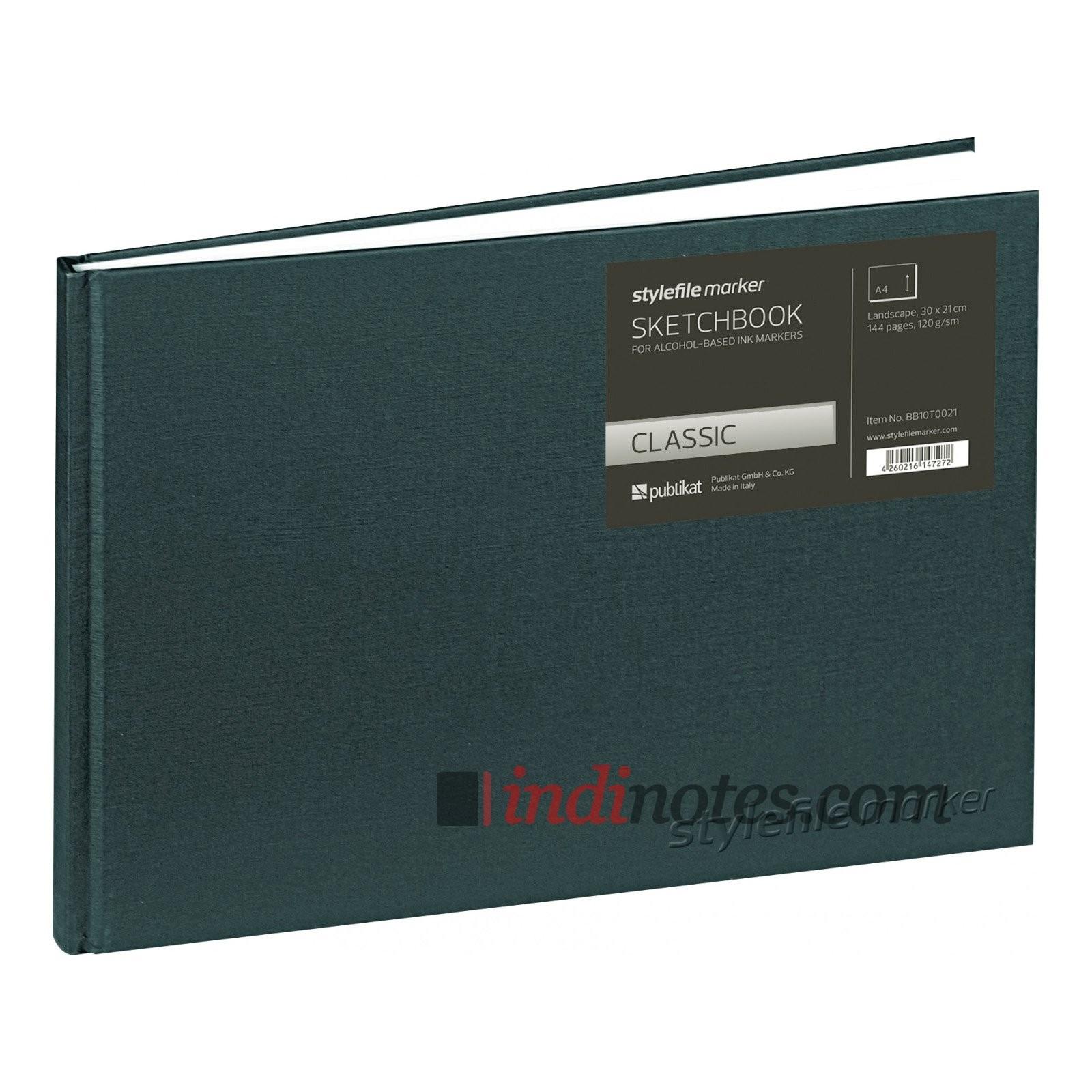 Скетчбук для маркеров StyleFile Marker Classic, пейзаж А4