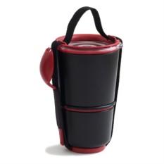 Черный ланчбокс Clever Pot