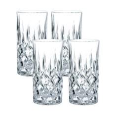 Набор высоких стаканов из хрусталя Noblesse