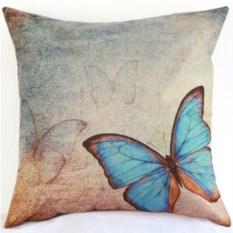 Декоративная наволочка Бабочки