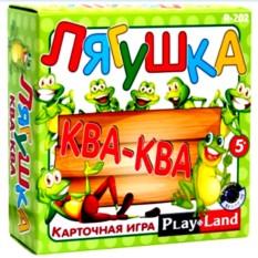 Карточная игра для детей «Лягушка Ква-Ква»