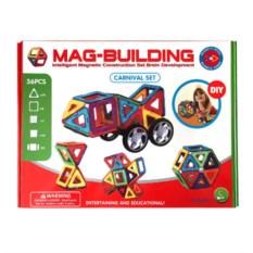 Конструктор Magbuildings на 36 магнитных деталей