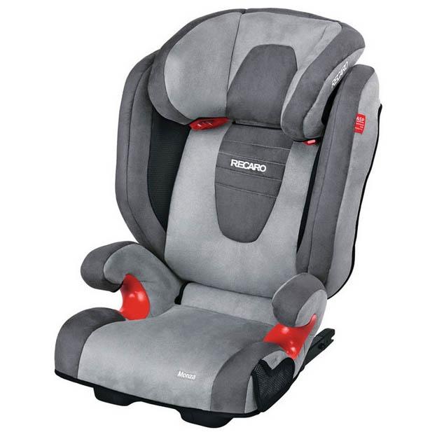 Детское автокресло RECARO Monza Seatfix (группа 2/3)