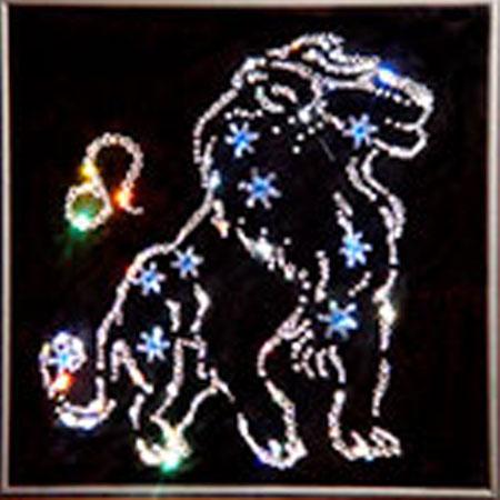 Панно Swarovski «Звездный Лев»