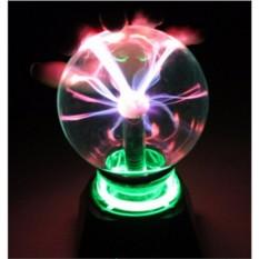 Музыкальный светильник Плазма-шар (разные размеры)