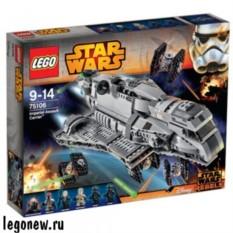 Конструктор Лего Звездные войны. Имперский перевозчик