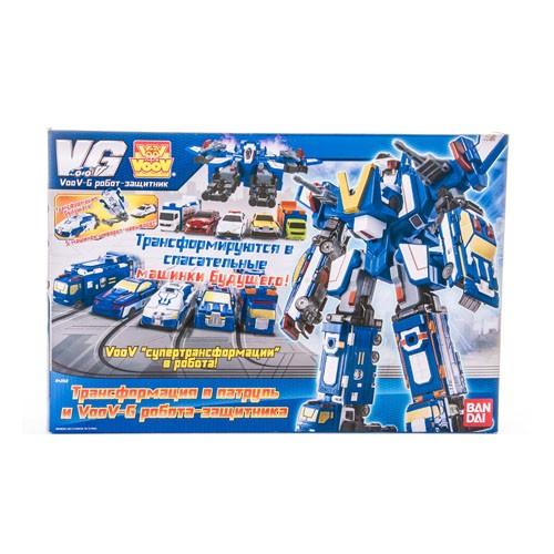 Робот-истребитель из 5 автомобилей