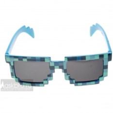 Синие криперские очки