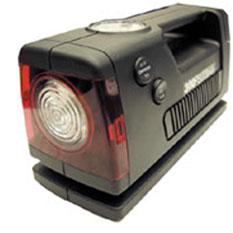 Мощный а/м компрессор с манометром и фонарём