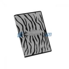 Обложка для паспорта из кожи ската Белый тигр