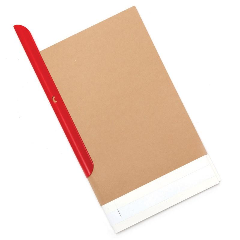 Блокнот Eco clip, красный