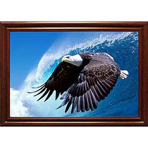 Объёмная 3D картина «Орёл над морем»